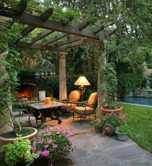 ❤ backyard landscaping
