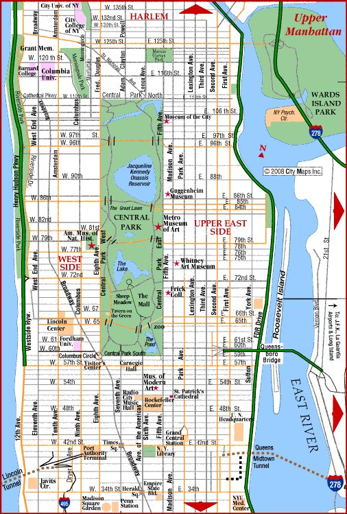 Manhattan Streets Map Montana Map - Map of new york city streets