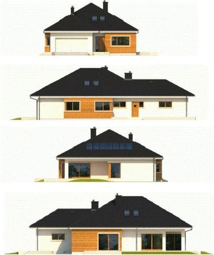 Perspective fatade casa