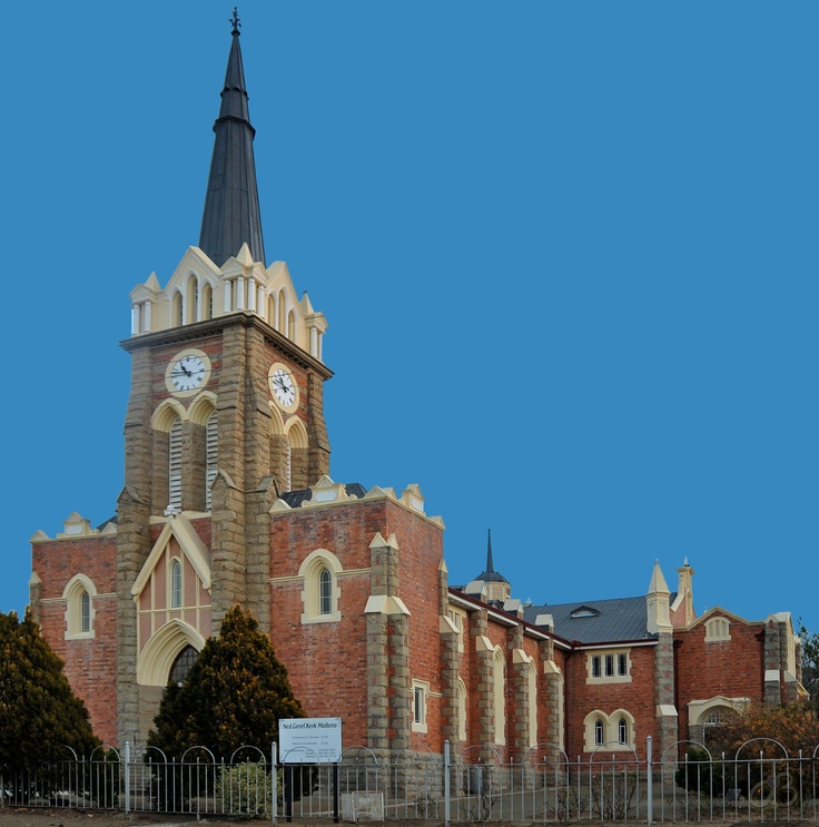 Dutch Reformed church of Molteno, Eastern Cape, South Africa. By #PhotoJdB