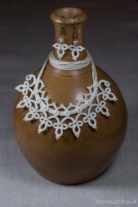 www.polandhandmade.pl #polandhandmade #frywolitka #necklace