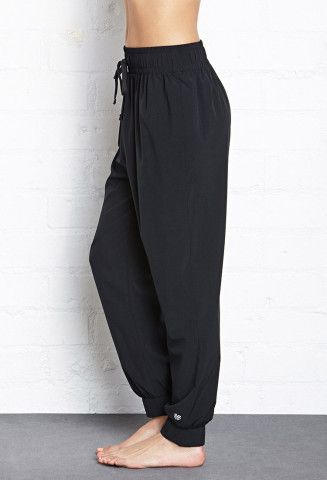 Relaxed Woven Athletic Pants | Forever 21, How do you sweat? http://keep.com/relaxed-woven-athletic-pants-forever-21-by-mathildemoi/k/1WAWhqgBFi/