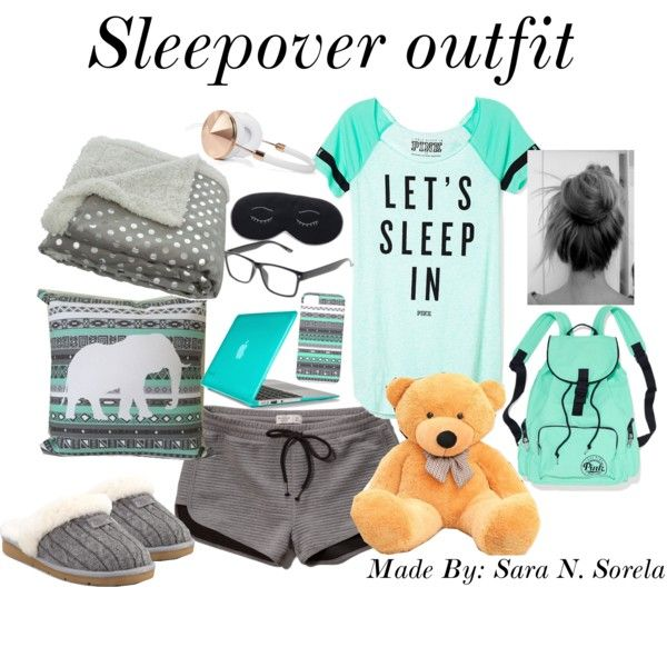 Sleepover outfit/essentials
