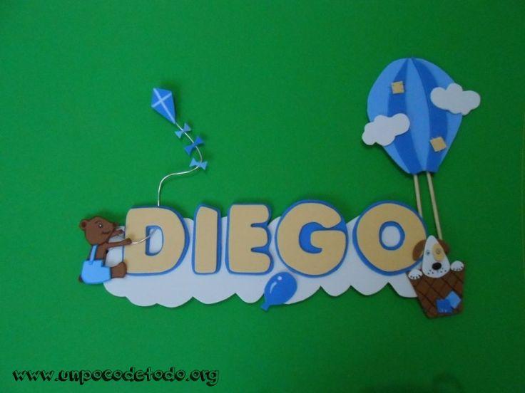 www.unpocodetodo.org - Cartel de Diego - Carteles - Goma eva