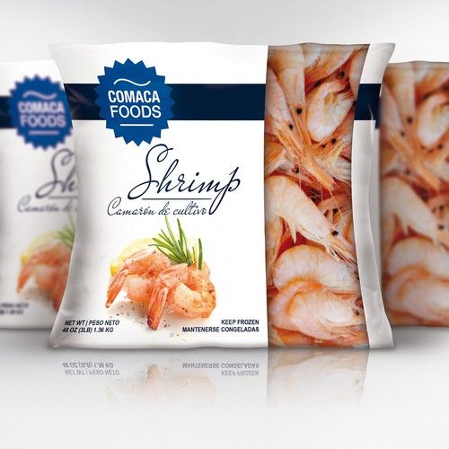 Worldwide Seafood Package for Retail Design by BjankaB