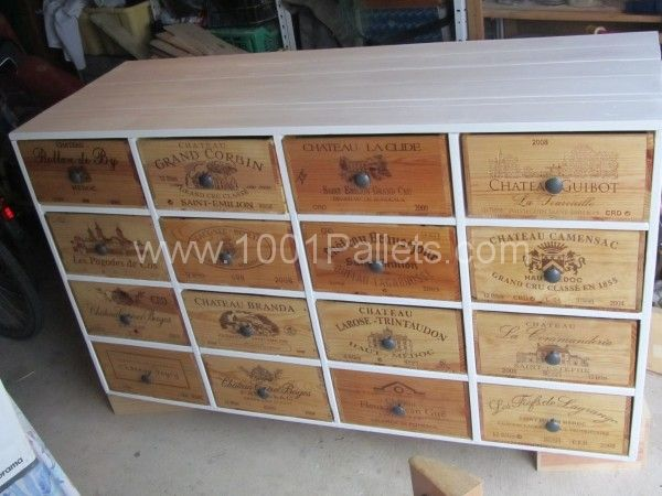 IMG 4017 600x450 Shoe storage from pallets and wine boxes in pallet entrance pallet furniture  with storage Pallets
