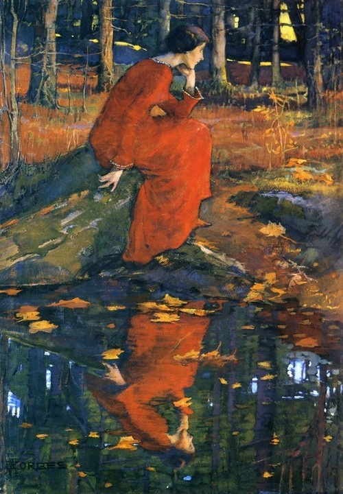 The Leaf: Elizabeth Stanhope Forbes