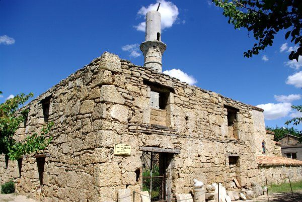 Crimea: Yevpatoria: Tekie Dervish & Armenian church