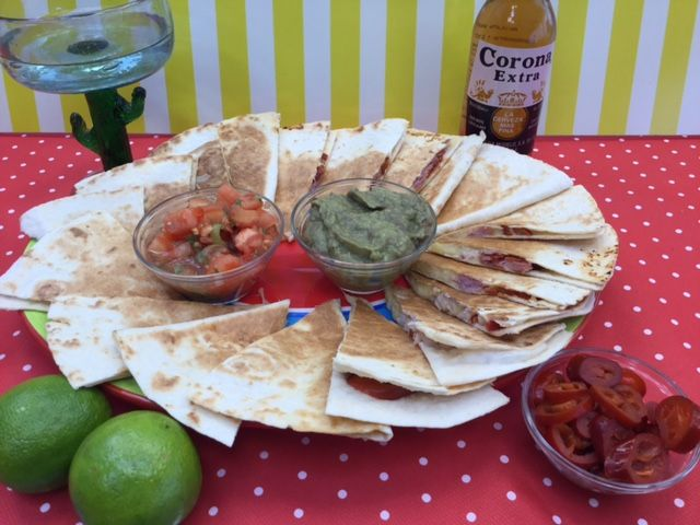 My favorite X-press food: Quesadilla, with good memories from Mexico