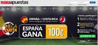 el forero jrvm y todos los bonos de deportes: marca apuestas apuesta 5 euros gana españa vs cost...
