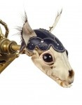"""From """"Brass Menagerie"""" collection. By Jessica Joslin."""