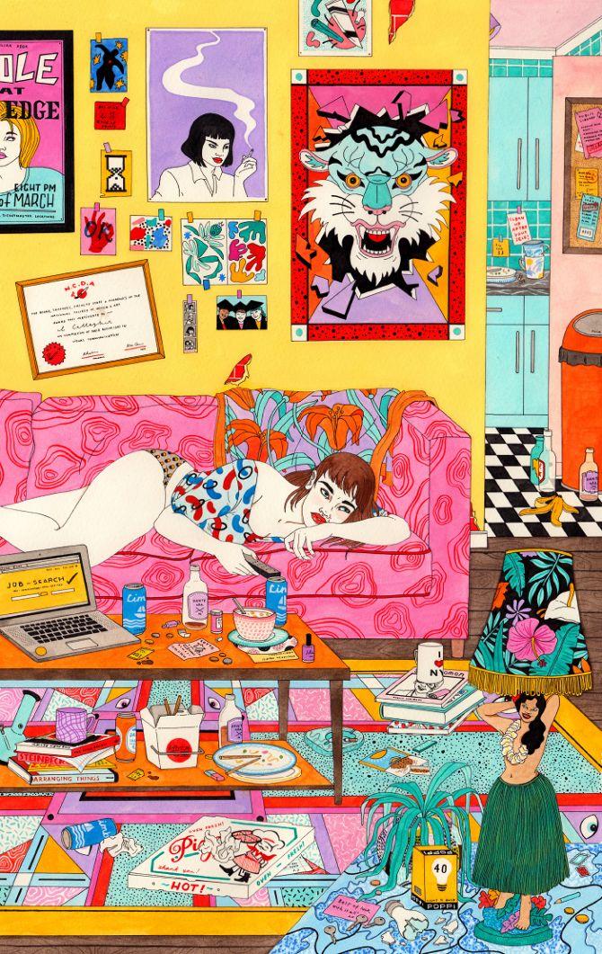 ILLUSTRAZIONE: Le ragazze di Laura Callaghan - Osso Magazine