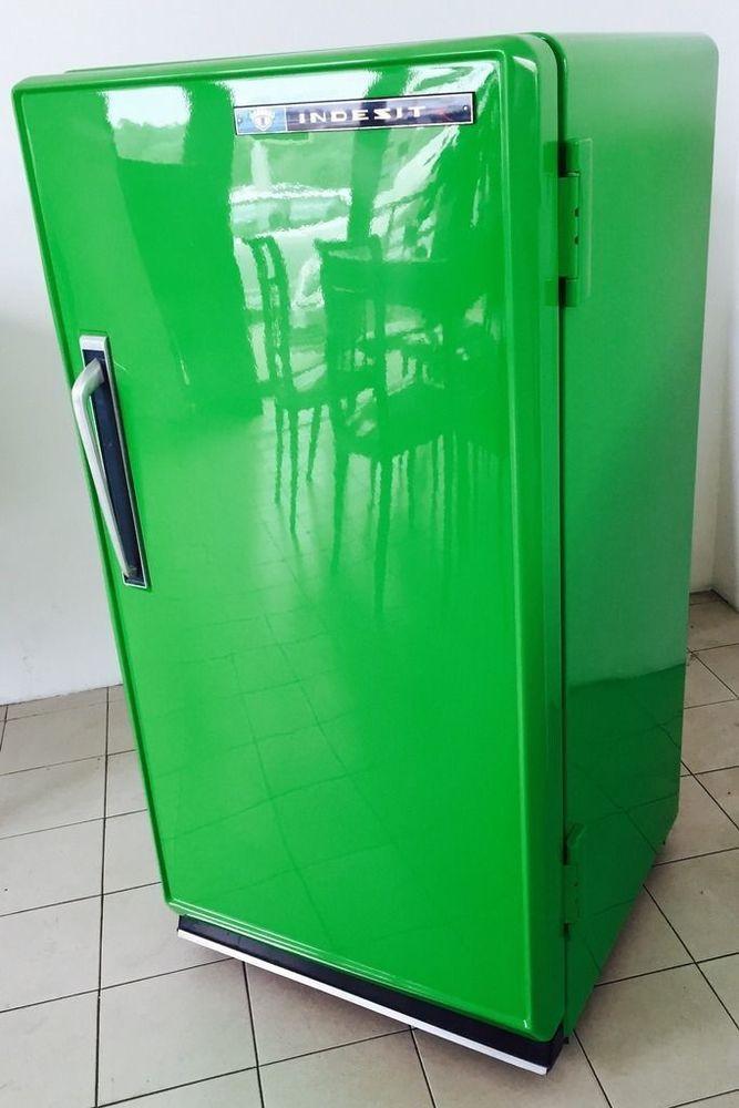 Mini-frigo indesit frigorigène vert 70 vert mezzanine millésime magnifique !!