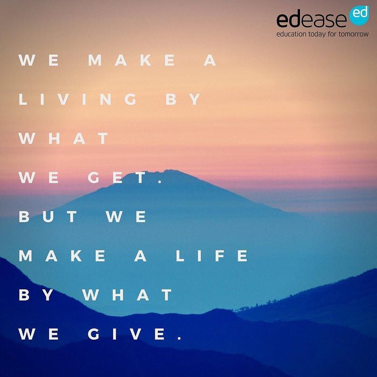 Don't forget to make a life not just a living. #WednesdayWisdom #quote #winstonchurchill #inspiration #life #learning #education