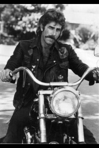 Sam Elliot. Yep bad boys on motorcycles and horses are my thing.