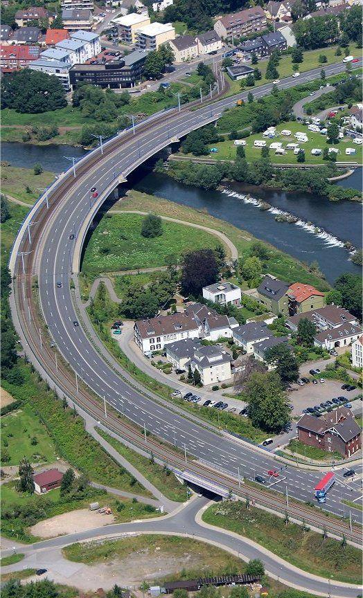 Aerial Photo Rhur Bridge Bochumer Str Hattingen In Germany Dronesuavuas Drone PhotographyPhotography