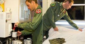 Príncipe William mostra bastidores do seu trabalho - Realeza britânica mostra fotos com um pouco da rotina do príncipe William na Força Aérea Real