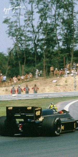Grande Prêmio da Hungria – 1986 | Ayrton Senna