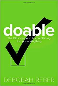 "The Nonfiction Detectives: Doable: the girls' guide to accomplishing just about anything by Deborah Reber. The book is set up like a workbook with each task broken up into eight ""doable"" steps all clearly explained. Step 1:  What do you want to do? Readers will go from naming their specific goal, mapping it out, defining all the tasks involved, actually doing the work, dealing with setbacks to finally delivering the goods."