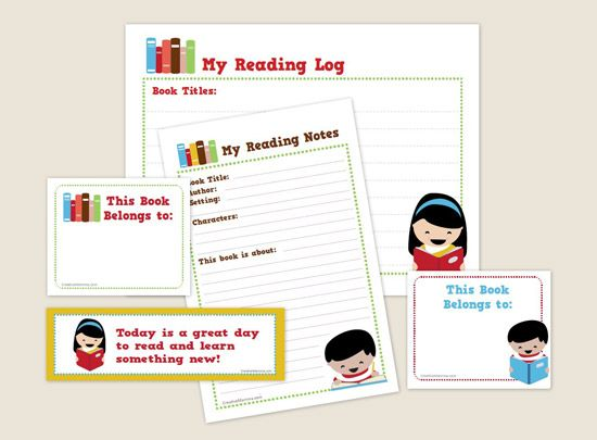 mmm: Reading Printable, Reading Logs For Kids, Free Summer, Kits Printable, Printable Reading, Summer Reading, Reading Kits, Summer Fun, Free Printable