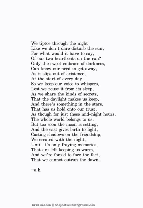 Before the Dawn. thepoeticunderground.com #poem #poetry→follow←@ ★☆Danielle ✶ Beasy☆★