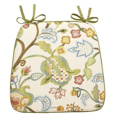 Floral Jacquard Dining Cushion Kitchen Chair CushionsKitchen Table