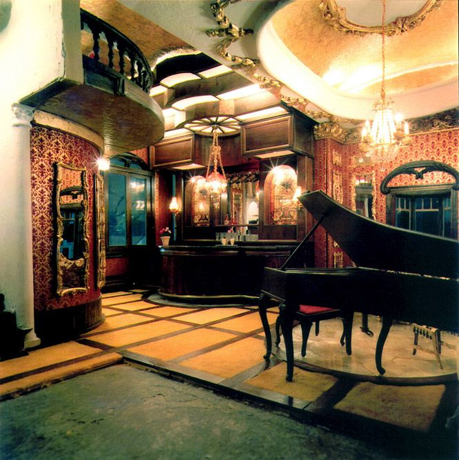 The Grand Piano Room From The Freeman S Dollhouse Castle