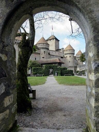 Castello di Chillon a Montreux - Svizzera