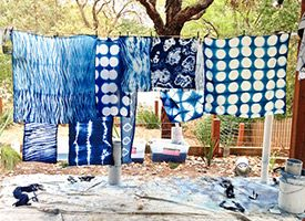 DIY Shibori: Learn From the Experts on Etsy - interesting article with awesome photos