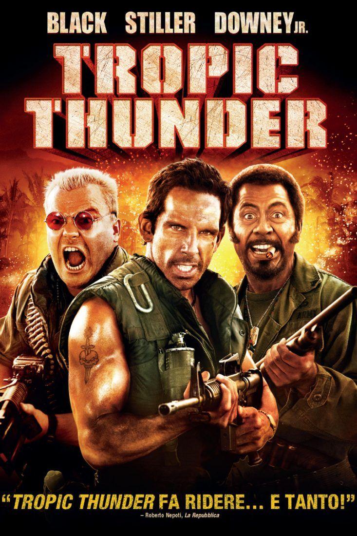 Tropic Thunder Streaming Film E Serie Tv In Altadefinizione Hd Ben Stiller Kriegsfilm Komodien