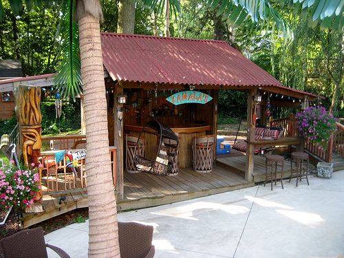 backyard beach & tiki bar