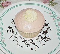 Irish Breakfast Tea Cupcakes - Serving Size: 24 Ingredients      Cupcakes:     1 stick plus 2 tablespoons butter, at room temperature     1-1/2 cups sugar     2 cups all purpose flour     2 teaspoons baking powder     1/2 teaspoon salt     1 cup Irish Breakfast Tea steeped with 2 teaspoons of leaves, cooled to room temperature     1 teaspoon vanilla extract     4 large egg whites