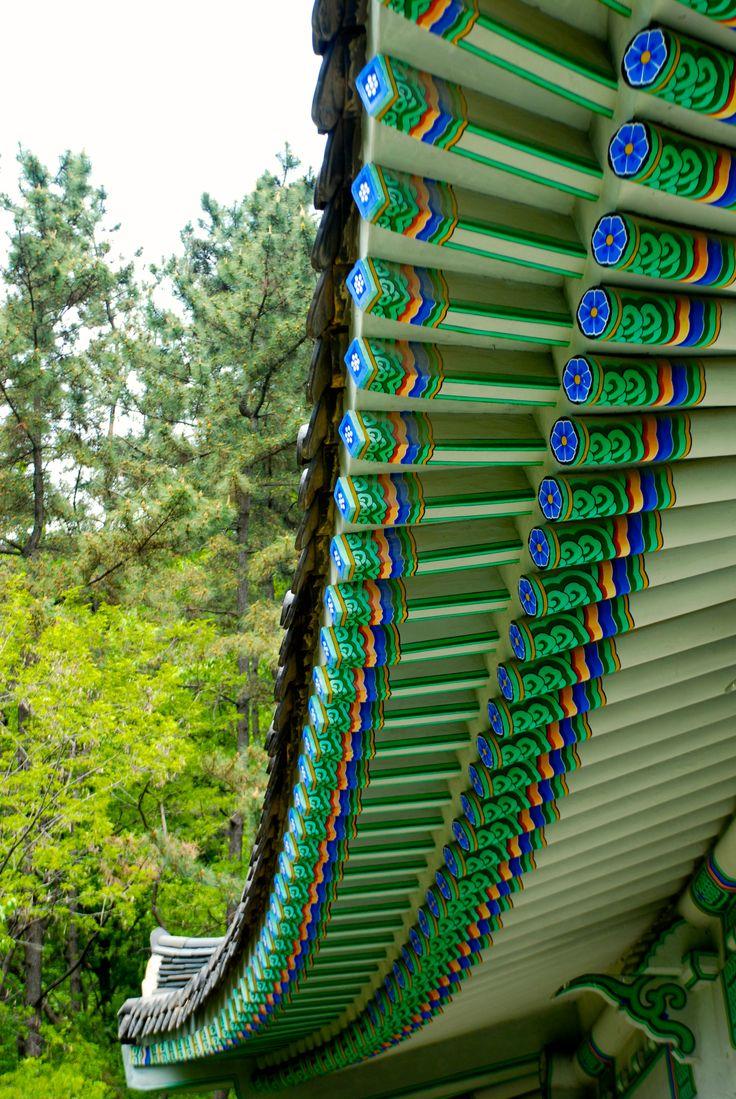 Namganjeongsa, Uam Historical Park Daejeon, Korea April 2014
