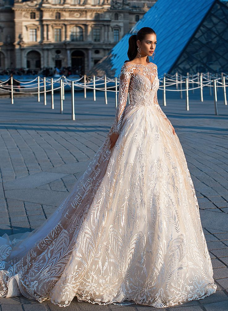 Milla Nova LORENZO ROSSI Federic glamorous #weddingdress