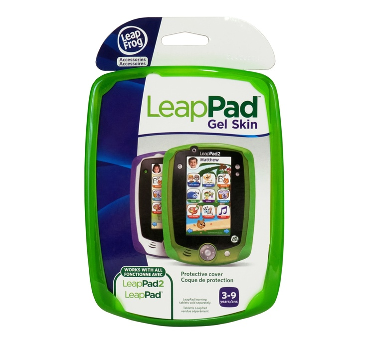 Protect your LeapPad 2 with the LeapPad skin - also available in blue and purple!