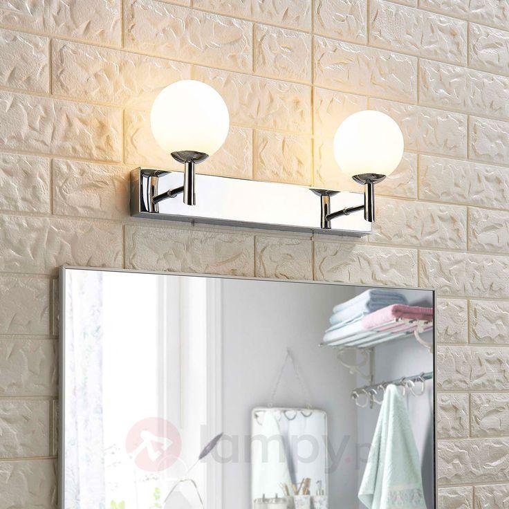 2-punktowa łazienkowa lampa ścienna LED Florijon 9620995
