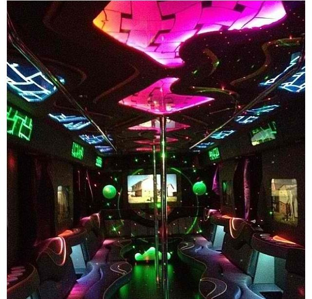 18th Birthday Party Ideas Limo Hire Party Bus: 70 Best Inside A Party Bus Images On Pinterest