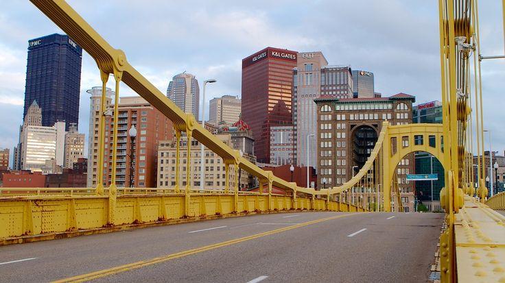 Roberto Clemente Bridge in Pittsburgh, Pennsylvania | Expedia