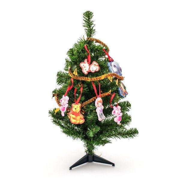Albero di Natale con 12 Decorazioni Winnie the Pooh - TocTocShop.com - Fantastico per i Bambini, Imbattibile nei Prezzi