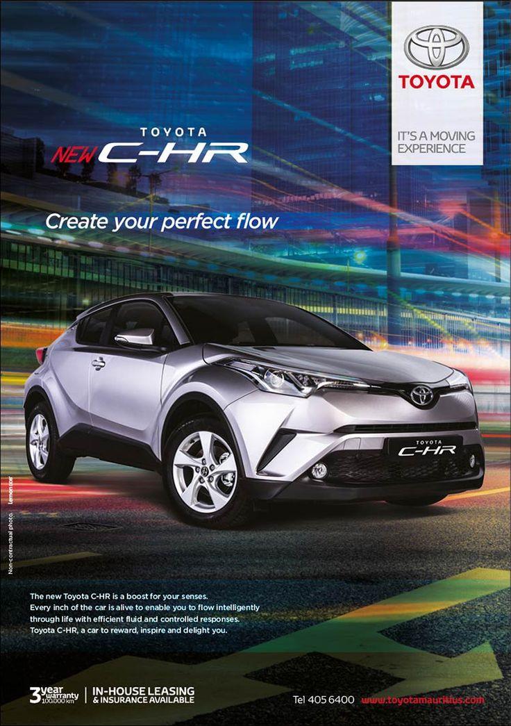Toyota Mauritius Ltd Toyota CHR. Tel 405 6400