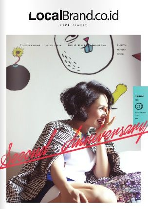 LocalBrand.co.id e-Magazine Cover | 24nd edition | Andien Aisyah  | Second Anniversary  Issue all wardrobe by LocalBrand.co.id Click issuu.com/... for read the e-Magazine #LocalBrandID How to buy? Visit www.localbrand.co.id Line : localbrandid SMS/WA : +62858 3015 3333 BBM : 7436815A BB channel : LocalBrand.co.id