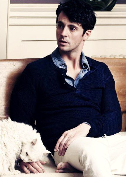 "Matthew Goode - He's gorgeous and made an amazing job as Charlie in the great movie ""Stoker"""
