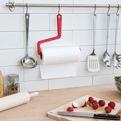 rollo paper towel hanger some rollers are made to paint but this one is - Kitchen Towel Holder Ideas