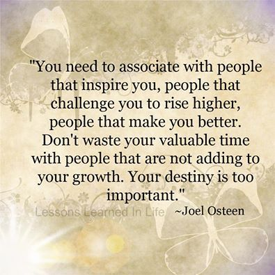"Not sure I like the ""wasting time"" part, but I like the idea of being around people who challenge and inspire me."