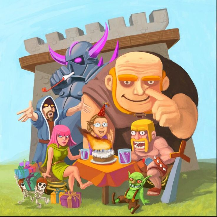 clash of clans reality show pic! lol
