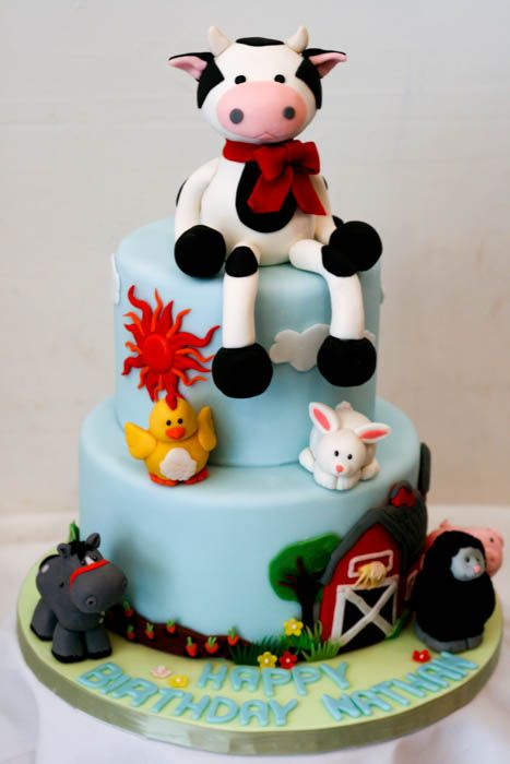 113 best cow cakes images on Pinterest Cow cakes Cake ideas and