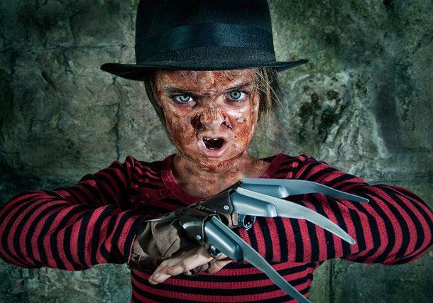 Relembre seus maiores medos com essa cosplay infantil de filmes de terror