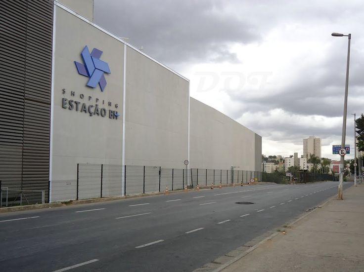 #Wayfinding - #Facade sign - #Estação BH - Belo Horizonte - Brazil #brazilian design #design #shopping #malls