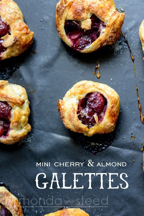 Mini Cherry and Almond Galettes | Pastries, Summer and ...