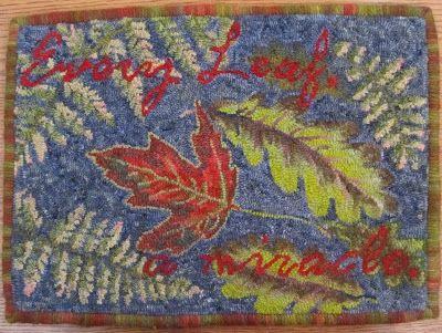 Fish Eye Rugs: Trish Johnson's Rugs - part two